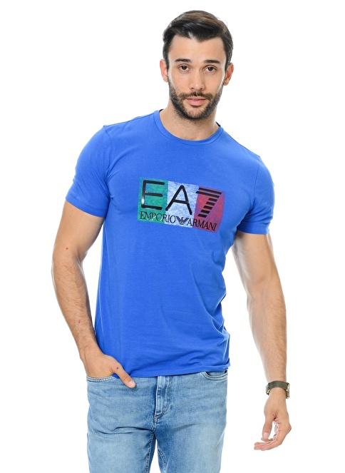 EA7 Emporio Armani Tişört Mavi